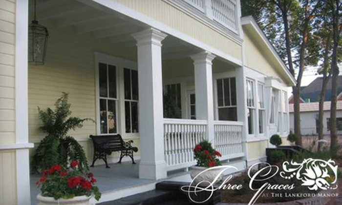 Three Graces at the Lankford Manor - Tifton: $60 for a One-Night Stay and Breakfast at Three Graces at The Lankford Manor ($125 Value)