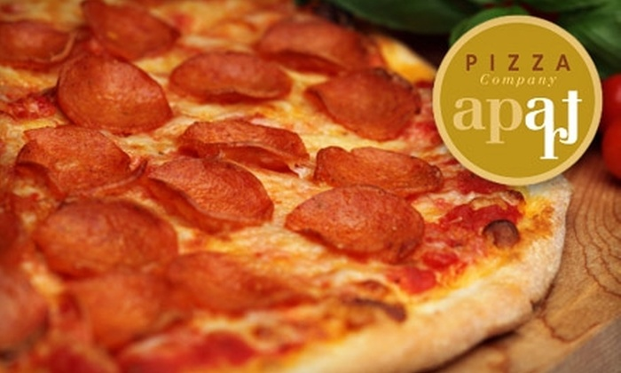 Apart Pizza Company - Multiple Locations: $15 for $35 Worth of Pizza and More at Apart Pizza Company