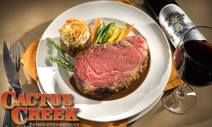 Cactus Creek Prime Steakhouse - Reno: $25 for $50 Worth of Steak and More at Cactus Creek Prime Steakhouse