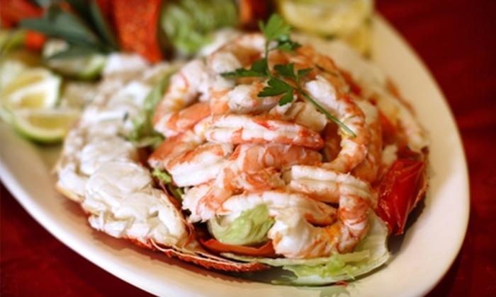 Sandollar Restaurant and Marina - Fort George Island: Seafood for Dinner or Lunch at Sandollar Restaurant and Marina