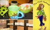 The Craft Retreat - Glendale: $12 for $24 Worth of Paint-Your-Own Pottery at The Craft Retreat in Glendale