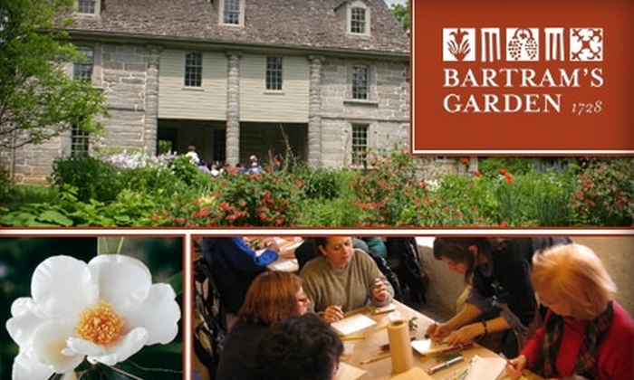 Bartram's Garden - Kingsessing: $16 for Two Tours and an Art Workshop at Bartram's Garden ($33 Value)