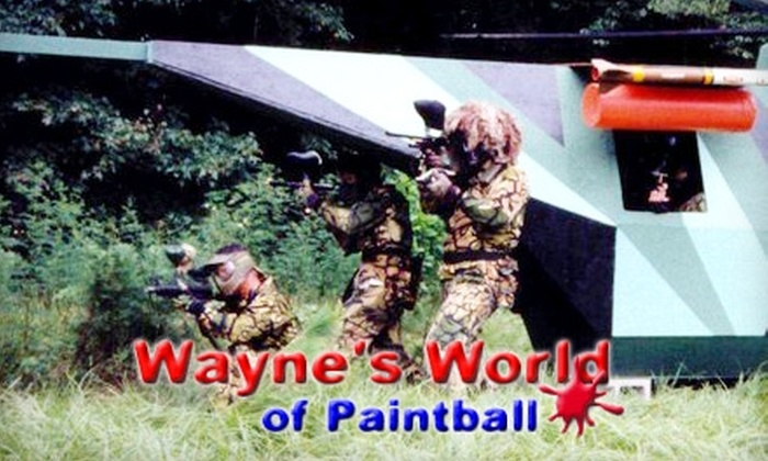 Wayne's World of Paintball - Ocala: $25 for Admission, Equipment Rental, 400 Paintballs, and CO2 at Wayne's World of Paintball (Up to $51 Value)