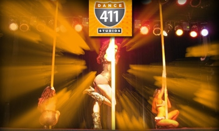Dance 411 Studios - Atlanta: $29 for Four Pole-Dancing or Other Sensual Classes at Dance 411 Studios (Up to $75 Value)