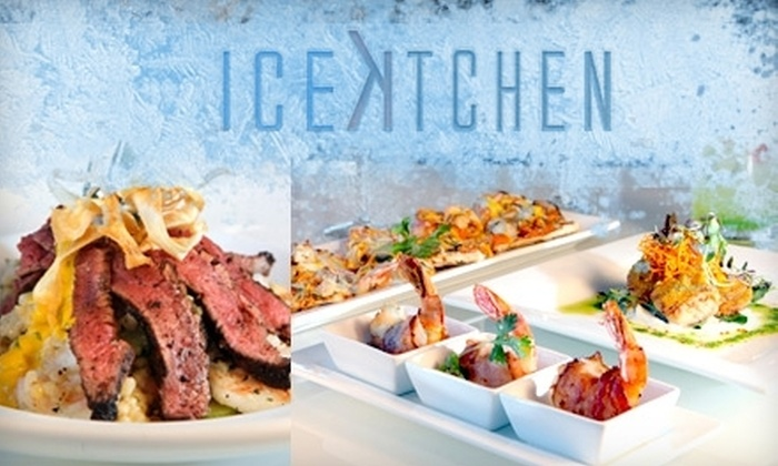 IceKitchen - Saint Louis: $10 for $25 Worth of Fusion Fare and Cocktails at IceKitchen