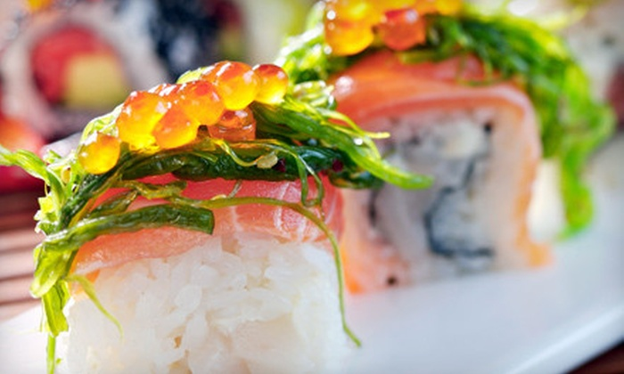 She's Bistro & Sushi Bar - Peachtree City: Japanese and Chinese Fare at She's Bistro & Sushi Bar in Peachtree City (Up to 53% Off). Two Options Available.