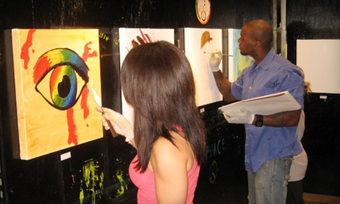 E Gallery Studios - West Dallas: $30 for a Three-Hour BYOB Painting Class at E Gallery Studios ($70 Value)