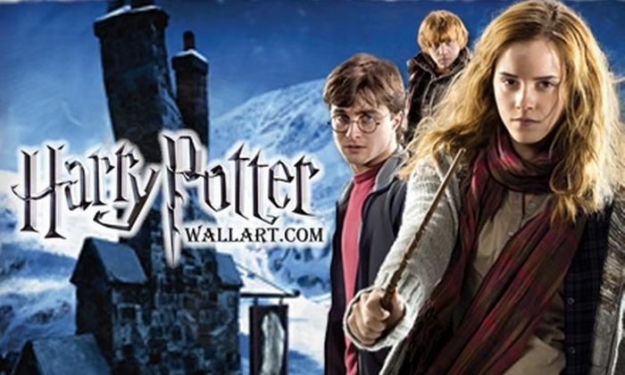 Pinhedz: $65 for a Harry Potter Wall-Art Bundle from Harry Potter Wall Art