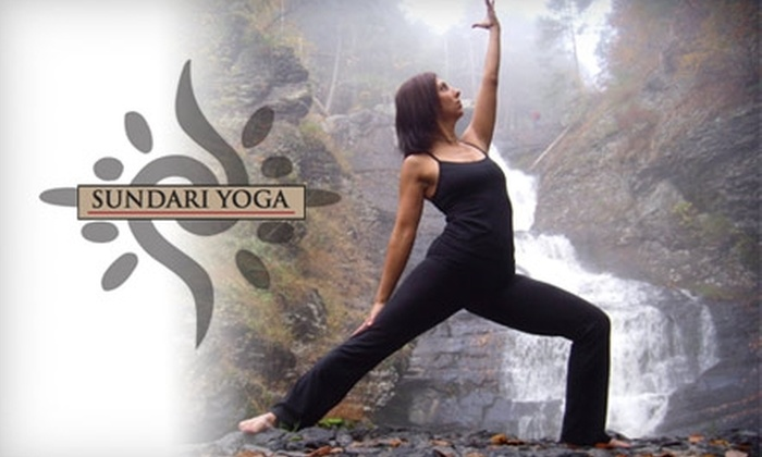 Sundari Yoga - Stroudsburg: $25 for a Five-Class Series at Sundari Yoga