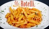 Rotelli - Multiple Locations: $8 for $16 Toward Food and Drinks at Rotelli