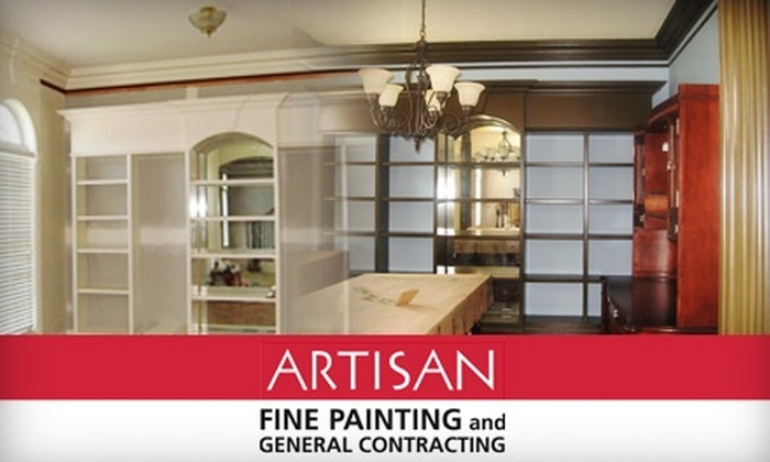 Artisan Fine Painting and Contracting - Downtown Indianapolis: $85 for Professional Wall Painting in One Room from Artisan Fine Painting and Contracting