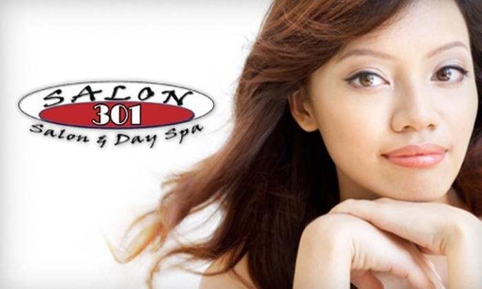 Salon 301 & Day Spa - Mishawaka: $50 for a Spa Pedicure and Elemental Nature Facial at Salon 301 & Day Spa
