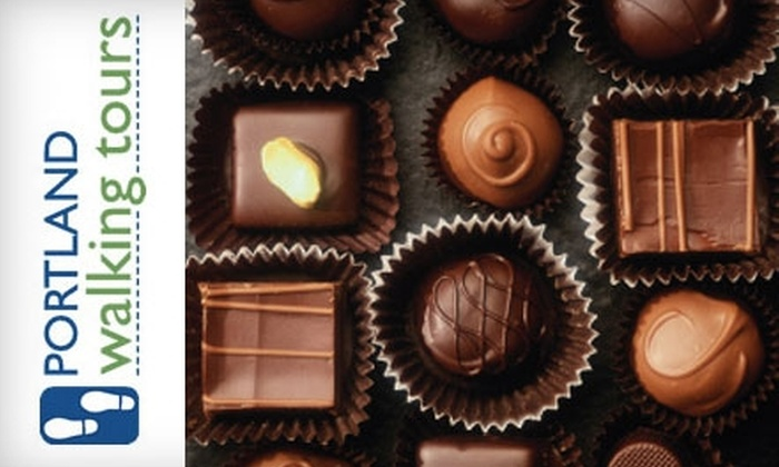 Portland Walking Tours: $29 for a Chocolate Decadence Tour from Portland Walking Tours ($59 Value)