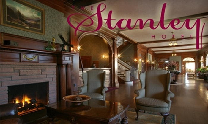 The Stanley Hotel - Estes Park: $89 for a One-Night Stay and One Ticket to a Ghost Tour at The Stanley Hotel in Estes Park