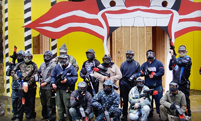 Paintball Explosion - East Dundee: $30 for Paintball Outing and Gear for Two at Paintball Explosion in East Dundee ($91 Value)