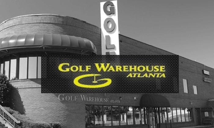 Golf Warehouse Atlanta - Cumberland: $30 for $60 Worth of Golf Accessories, Clothing, Clubs, and More at Golf Warehouse Atlanta