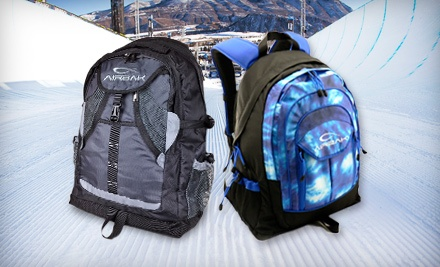 AirBak Technologies Groovy Backpack in Tie-Dye Blue (a $59.99 value) - Geeks.com in