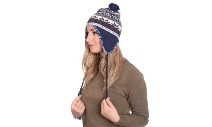 Martildo Knitted Fair Isle Hat | Groupon Goods