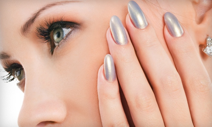 Bouffant Salon - Pearl: $32 for a Shellac Gel Manicure and Spa Pedicure at Bouffant Salon