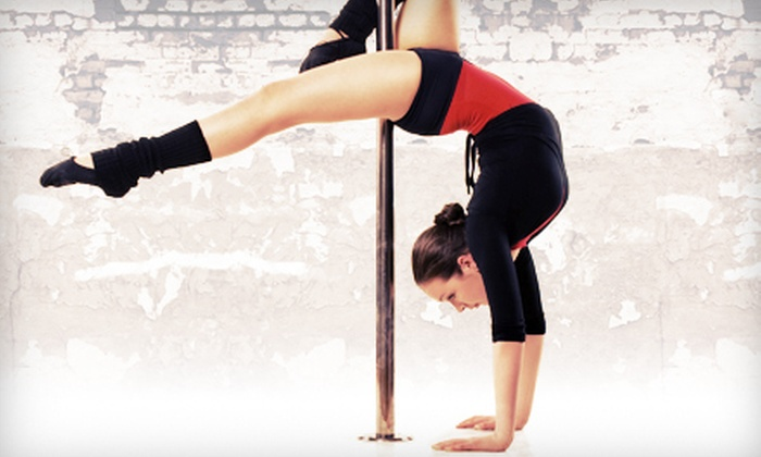 Lady Katherine - Hudson: Flirty Fitness Classes or Pole-Dancing Party for Up to 20 at Lady Katherine (Up to 74% Off). Three Options Available.