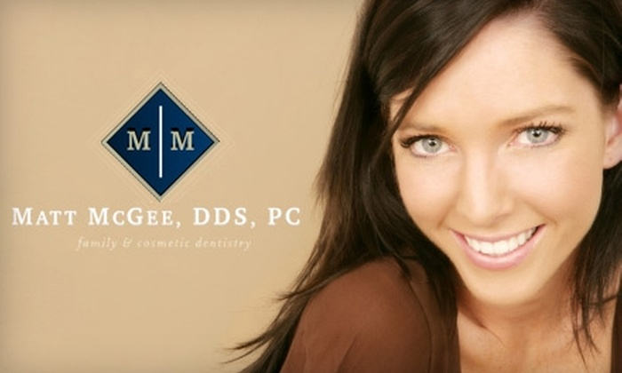 Matt McGee Family & Cosmetic Dentistry - Berry Hill: $99 for Teeth Whitening at Matt McGee Family & Cosmetic Dentistry
