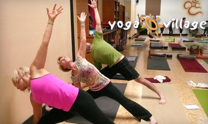 Yoga Village - Multiple Locations: $27 for 5 Drop-In Classes at Yoga Village (Up to $63 Value)