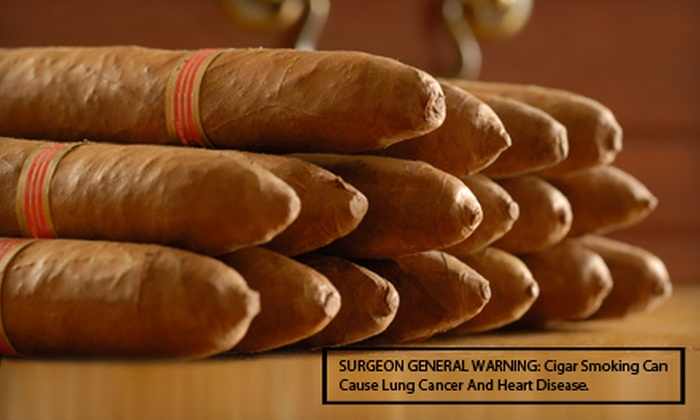 Old Cuban Cigar Factory - Middleton: 5 or 10 Hand-Rolled Cigars with Cutter at Old Cuban Cigar Factory in Middleton (Up to 60% Off)