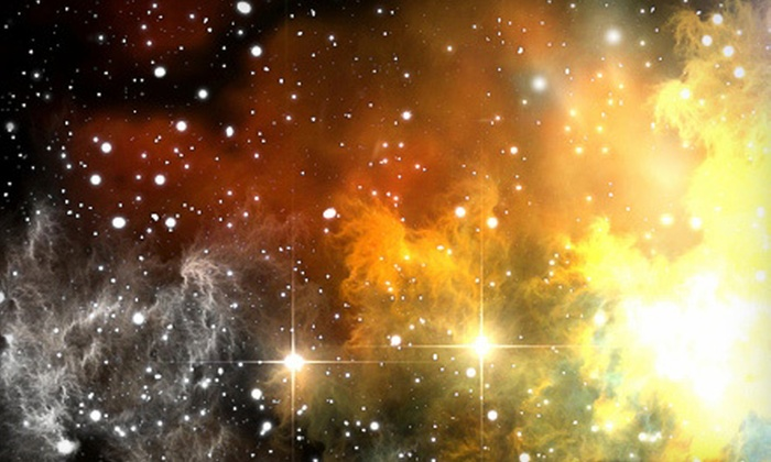 Name A Star Live - West Chester: Star-Naming Gift Set with Astronomy-Software Option from Name A Star Live (Up to 64% Off)