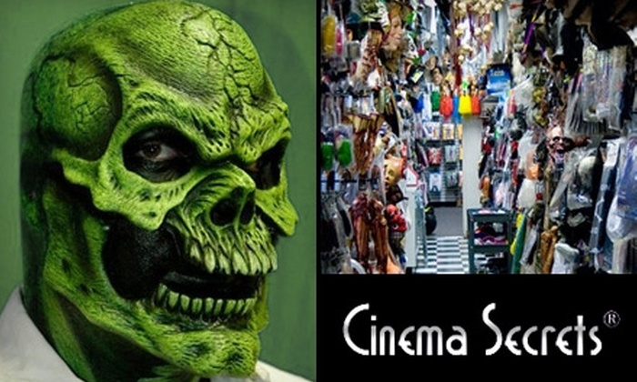 Cinema Secrets - Toluca Lake: $25 for $50 Worth of Merchandise from Cinema Secrets in Burbank