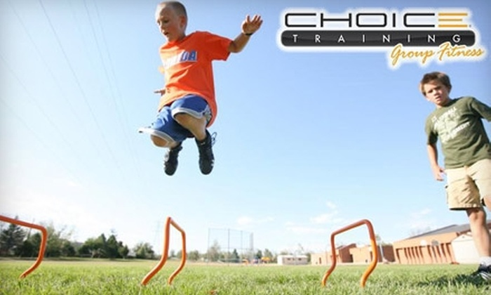 Choice Training Group Fitness - Hebron: $20 for Three Classes of Youth Hip-Hop Dance or Youth Fit-Camp Classes at Choice Training Group Fitness