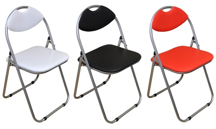 Up to Six Folding Desk Chairs in Choice of Design