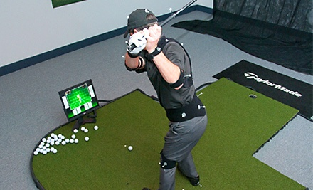 One-Hour Golf Lesson in a TruGolf 3D Simulator with a Club Pro (a $125 value) - 3D Golf Performance in Coquitlam