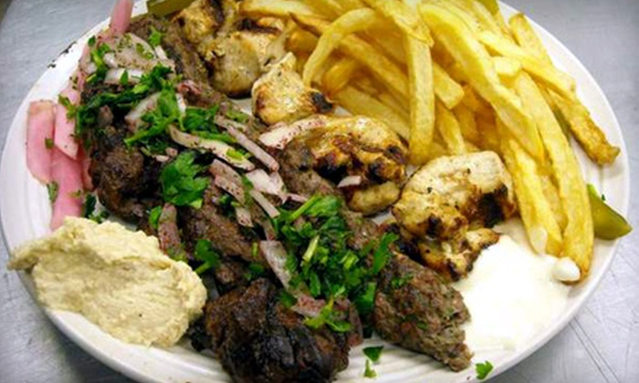 Central Café and Bakery - Central West End: Middle-Eastern Cuisine for Dinner or Lunch at Central Café and Bakery