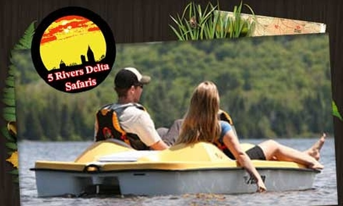 5 Rivers Delta Safaris - Spanish Fort: $30 for Nine Hours of Kayak, Canoe, and Pedal Boat Rental from 5 Rivers Delta Safaris (a $60 value)