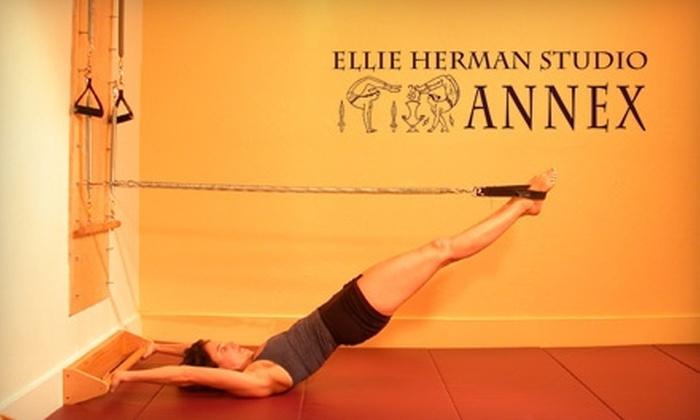 Ellie Herman Annex Studios - Park Slope: $29 for Any Three Classes at Ellie Herman Annex Studios in Brooklyn (Up to $60 Value)