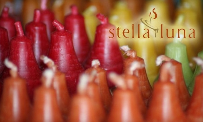 Stella Luna - Danville: $10 for $25 Worth of Custom Candle Making at Stella Luna in Danville