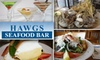 Hawgs Seafood Bar - Campbell: $25 for $50 Worth of Fresh Seafood and Drinks at Hawgs Seafood Bar