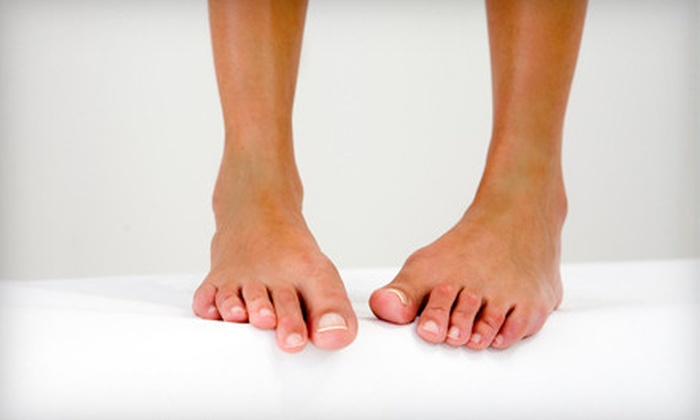 Jersey Foot Care - Multiple Locations: Nail-Fungus Treatment for One or Both Feet from Jersey Foot Care (75% Off)