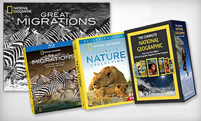 Complete DVD Sets and More, Including Free Shipping, from National Geographic Store. Five Options Available.