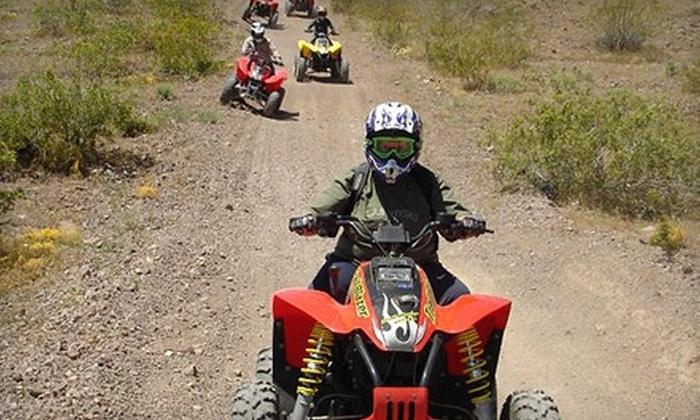 Las Vegas ATV Tours & ATV Rentals - Townsite: $59 for a Tour of the Eldorado Lake Bed from Las Vegas ATV Tours & ATV Rentals in Henderson ($125 Value)