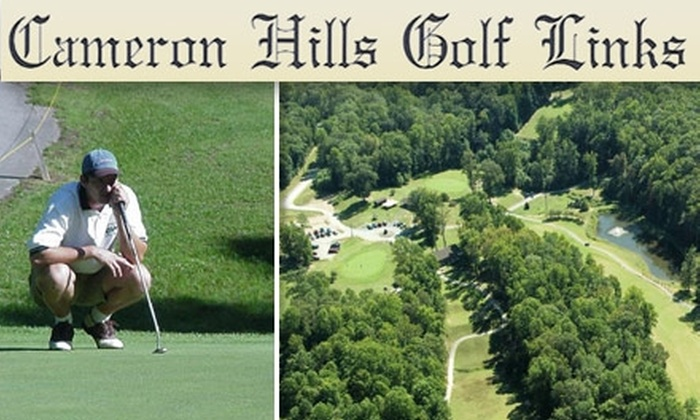 Cameron Hills Golf Links - Shiloh: $39 for One Day of Unlimited Golf for Two at Cameron Hills Golf Links, including Cart Rental, Player's Packs, and Two Draft Beers (Up to $158 Value)