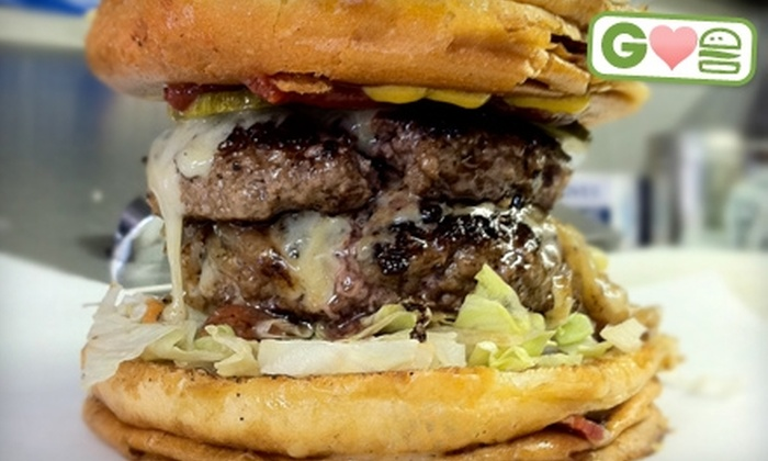 Bernie's Burger Bus - Multiple Locations: $3 for a Principal Burger at Bernie's Burger Bus ($7 Value)