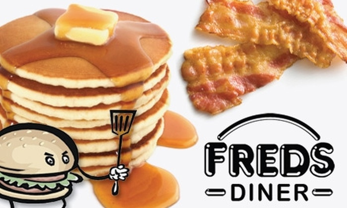 Fred's Diner - North Hill: $10 for $20 Worth of Delicious Breakfast Fare and More at Fred's Diner