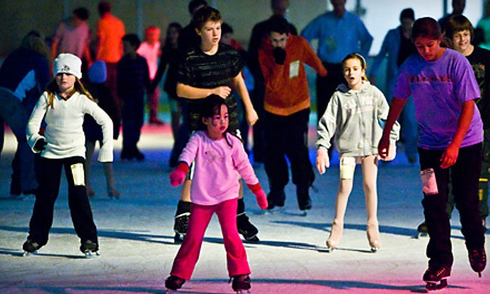 Ice Den - Scottsdale: Ice-Skating Outing with Appetizers for Two or Four at Ice Den in Scottsdale (Up to 54% Off)