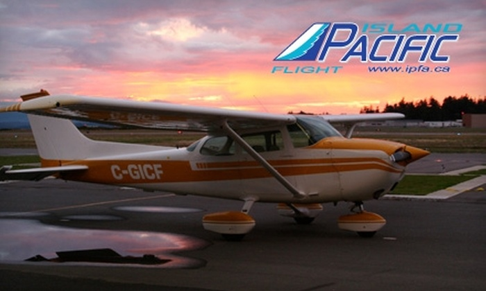 Island Pacific Flight Academy - Sidney: $150 for City Panorama Tour for Two from Island Pacific Flight Academy ($302.40 Value)
