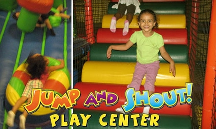 Jump and Shout Play Center - Mesa Grande: $22 for a Five-Day Pass to Jump and Shout Play Center in Mesa ($45 Value)