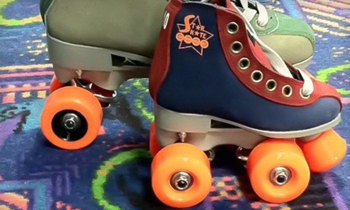 Star Skate - Multiple Locations: $6 for Two Public-Skate Admissions and Skate Rentals at Star Skate (Up to $14 Value)