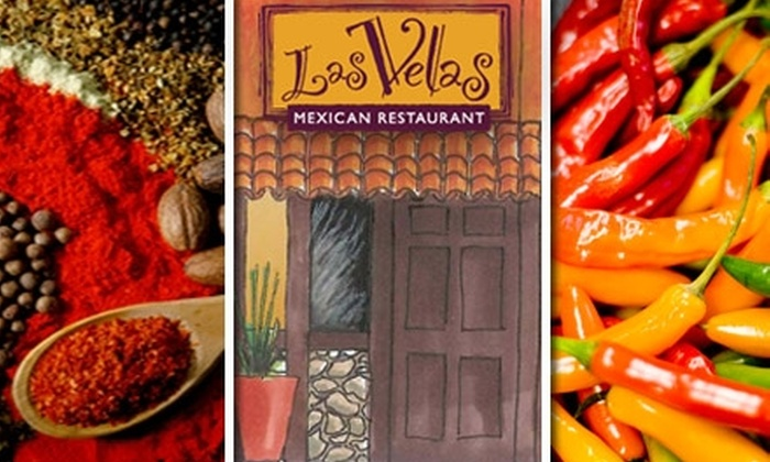 Las Velas - Downtown: $25 for $50 Worth of Mexican Fare & Margaritas at Las Velas
