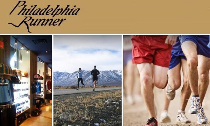 Philadelphia Runner  - Philadelphia: $19 for $40 Worth of Apparel at Philadelphia Runner