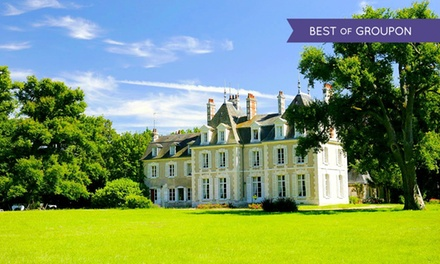 Châteaux de la Loire: 1 à 3 nuits pour 2 personnes avec pdj, dîner, et journée vélo en option au Château du Breuil 4*